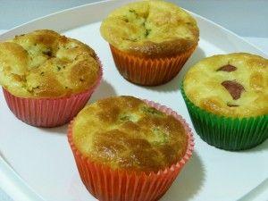 cupcake salgado de espinafre