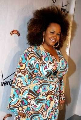 Jill Scott - Type 4c Natural Hair. (Brunette, Celebrities, Kinky hair, Long hair styles, Female Hairstyle Picture.)