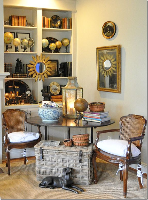 Cote de Texas' living room vignette