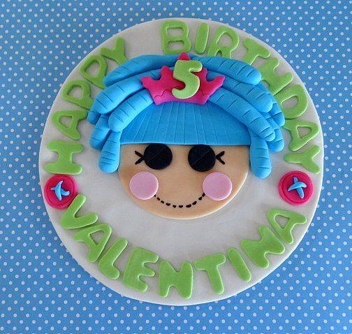 6 Fondant edible Cake Topper/Lala Doll Inspiried by TopCakeDecors, $29.95