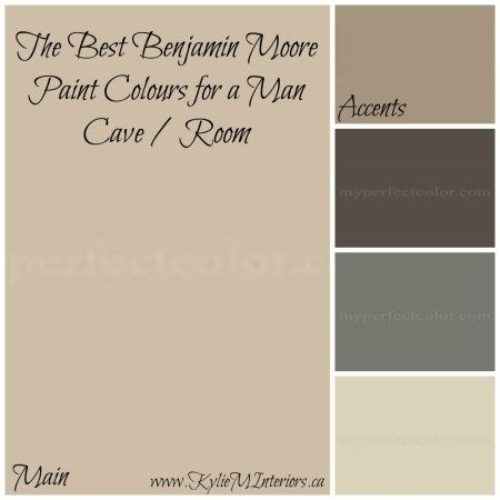 Best Paint Colours for a Man Room / Man Cave (That a Woman Can Live With) - Kylie M Interiors