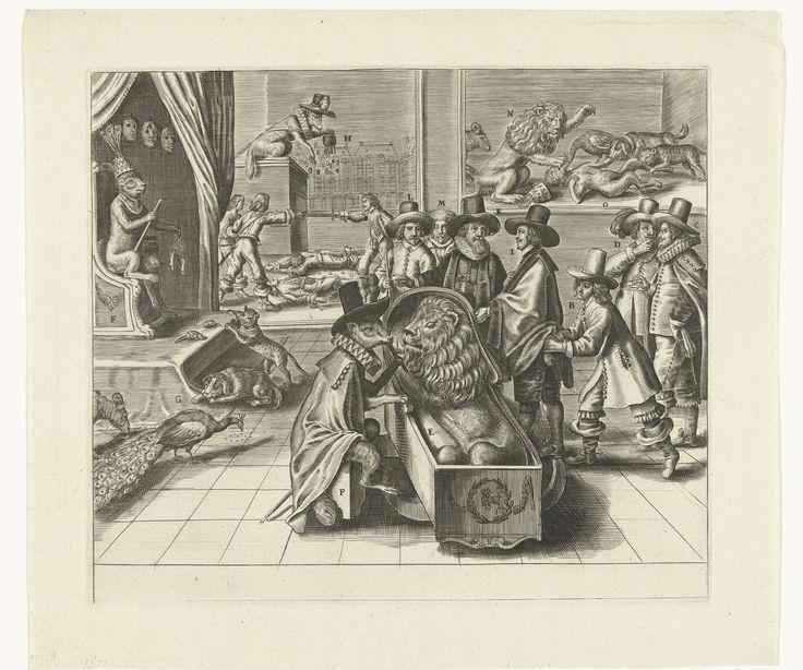 Het loze bedrog van Engeland, 1652, Crispijn van de Passe (II), 1652