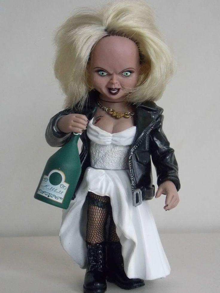 "MCFARLANE 1999 RARE ""BRIDE OF CHUCKY"" TIFFANY FIGURE/DOLL  #McFarlaneToys"