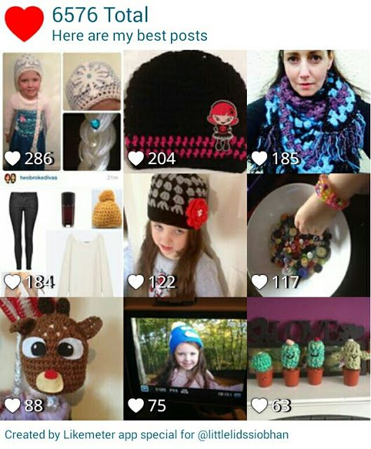 Little Lids Siobhan: My most popular pictures on Instagram