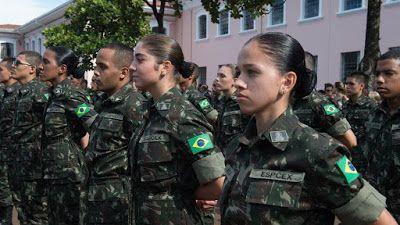 cadetes O Exército lançou concurso público para o curso de Formação e Graduação de Oficiais de Carreira da Linha de Ensino Militar Bélico, da...
