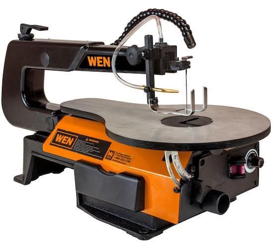 In search of the best scroll saw.