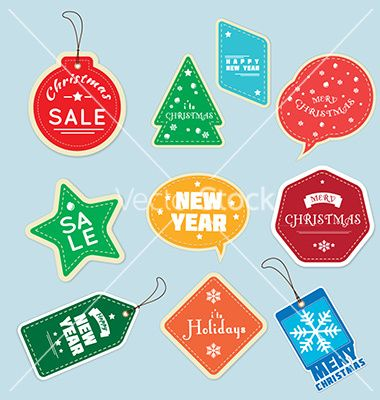 have an online shop? this tag is ready for your holiday seasons   Christmas+tag+vector+3215346+-+by+Fatichah on VectorStock®