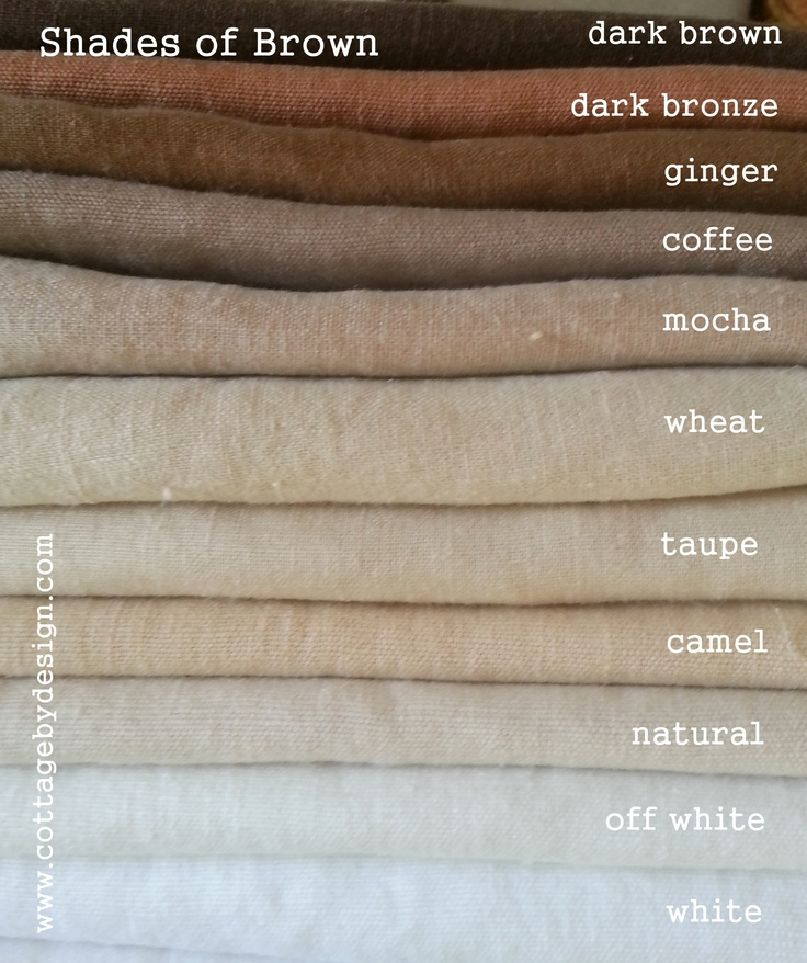$16/yd shades of brown linens