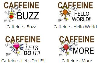 Caffeine!!! #t-shirt #coffeecups #merchandise