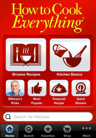 How to Cook Everything app.