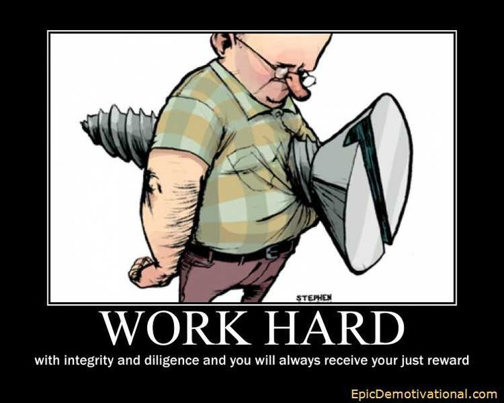 Workplace Motivational Posters Funny Work Hard Work