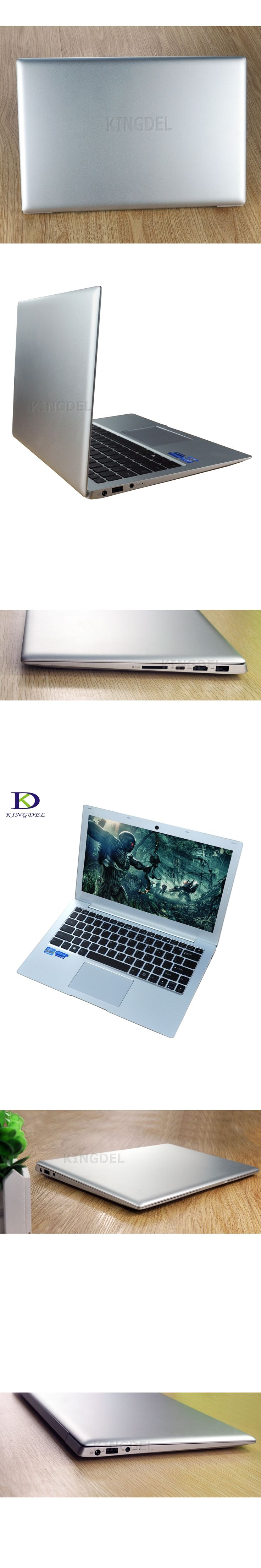 Newest Super laptop PC with Backlit Keyboard Bluetooth DDR4 Type-c SD high Frequency CPU i7 7500U 2.7GHz up to 3.5GHz Ultraslim