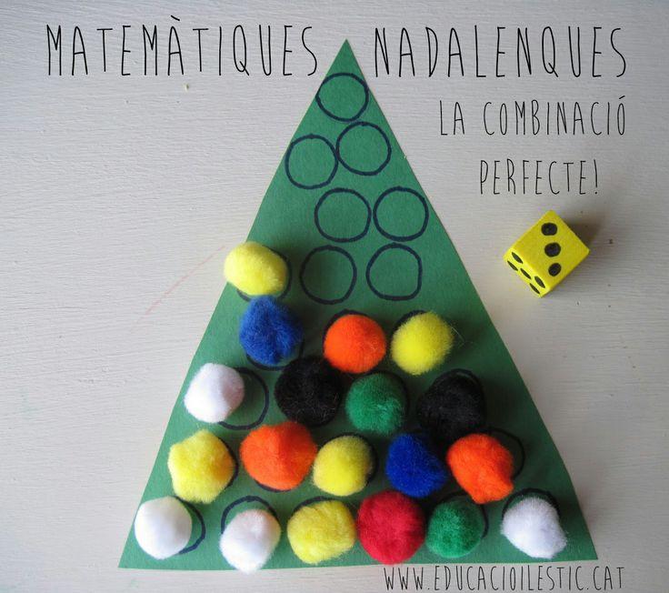 Matemàtiques nadalenques, la combinació perfecte!