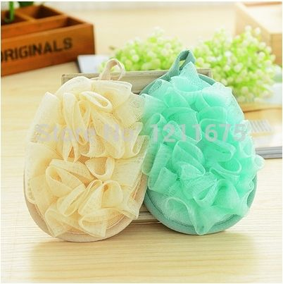 2PCS/LOT+Free Shipping Super Soft Dual Sides Bath Sponges Bath Ball
