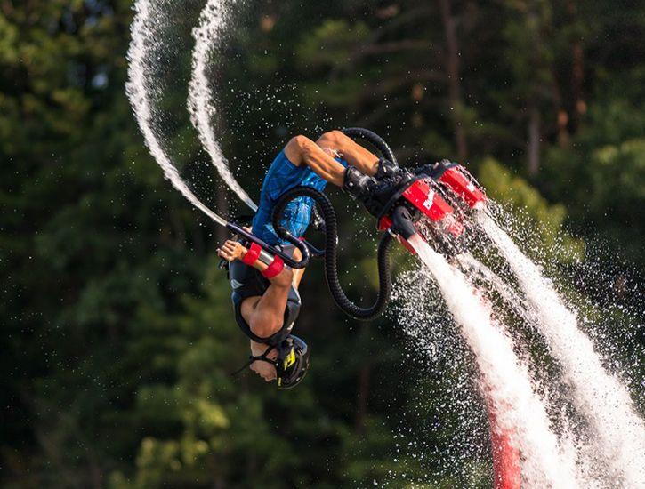 Водные развлечения по-киевски