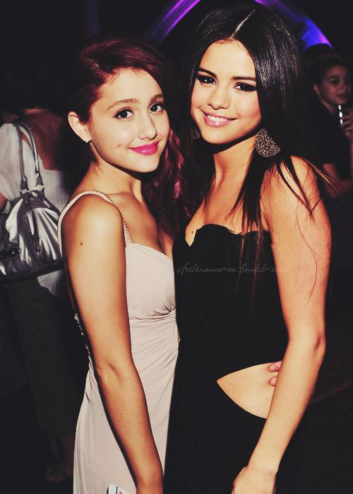 Ariana Grande and Selena Gomez