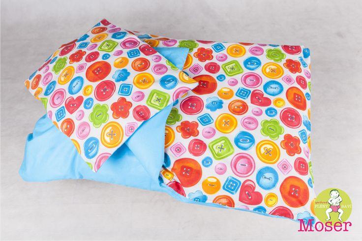 DĚTSKÉ POVLEČENÍ KNOFLÍKY LÁSKY Dětské povlečení CIK A CAK Rozměr: peřinka 100×135 cm, polštářky 40×60 cm Pokud máte jiný rozměr, tak nevadí, rádi Vám vše ušijeme na Váš rozměr. Materiál: 100% bavlna Zapínání: bezpečnostní zip