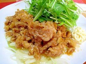 「プロ直伝!豚の生姜焼き」厚切り肉とはまた違った美味しさが味わえる生姜焼きです!【楽天レシピ】