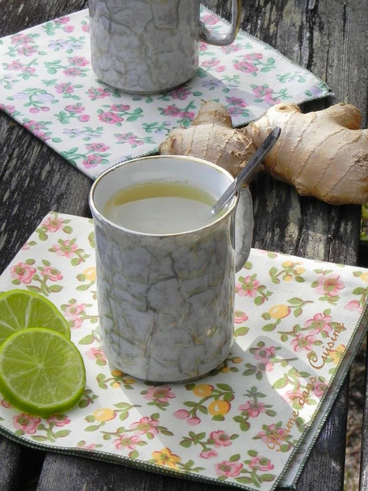 Recette thé gingembre