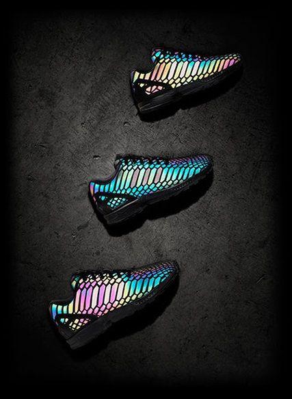 official photos de950 1b98b adidas zx flux xeno sort reflective