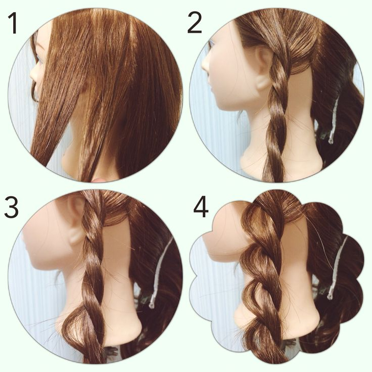 ツイストの崩し方 ヘアアレンジ*やり方*簡単 hair#hairdo#arrange