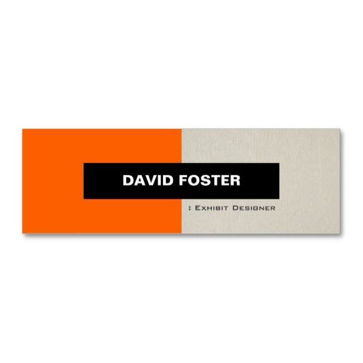 186 best exhibit designer business cards images on pinterest stage actor simple elegant stylish double sided mini business cards pack of wajeb Choice Image