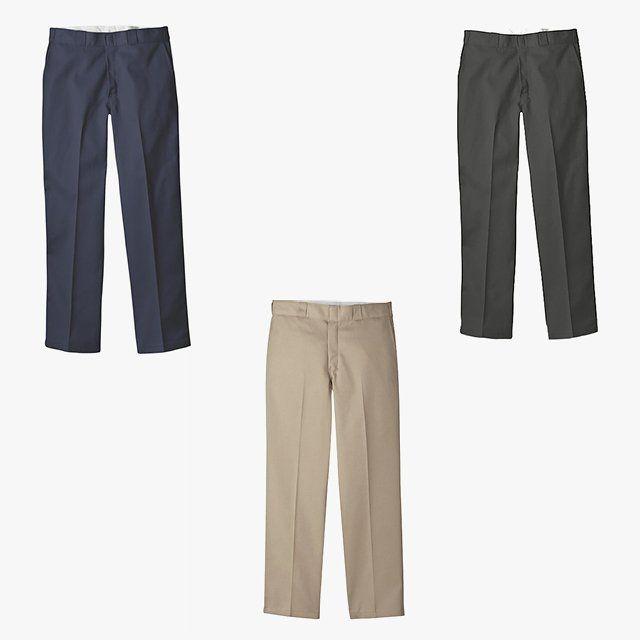 Jorden Bickham, Vogue.com Executive Fashion Editor - I just stocked up on Dickies. Dickies Original 874 work pants, $20, dickies.com