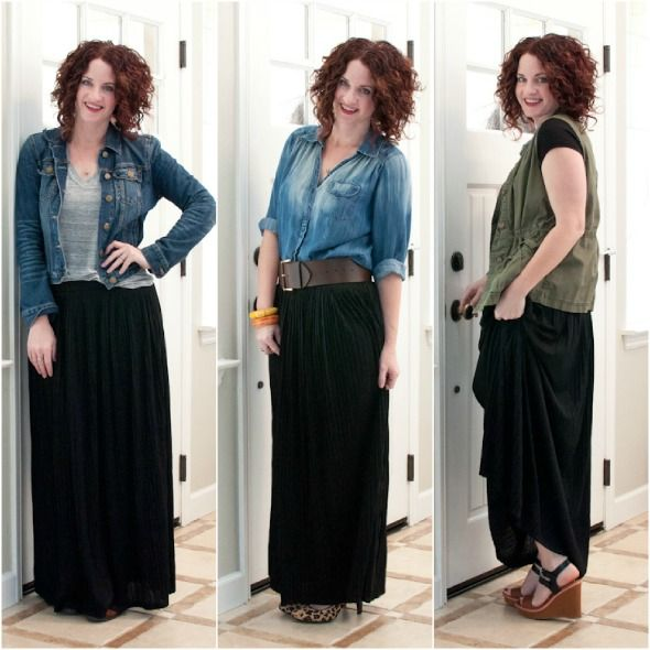 17 Best ideas about Black Maxi Skirt Outfit on Pinterest | Long ...