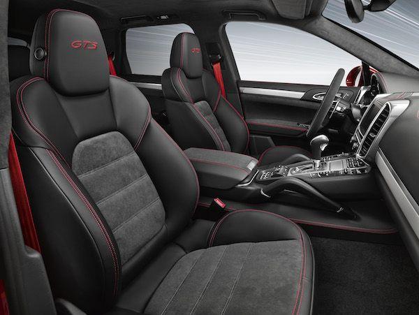 2015 Porsche Cayenne GTS Interior