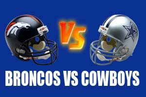 Watch Denver Broncos vs Dallas Cowboys Game Live Online Stream
