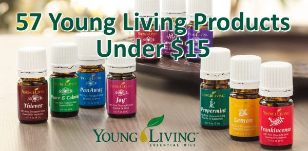 57 Young Living Products For Under $15 - It Keeps Getting Better