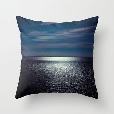 Sea Throw Pillow by lilla värsting - $20.00