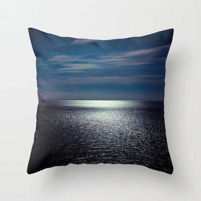 Sea Throw Pillow by lilla värsting - $20.00