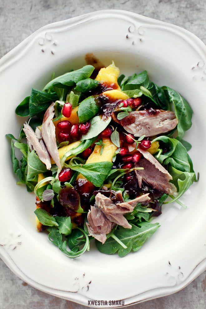 Duck Confit & Mango Salad
