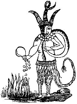 Lucifuge Rofocale, the servant of Lucifer as depicted in The Grand Grimoire