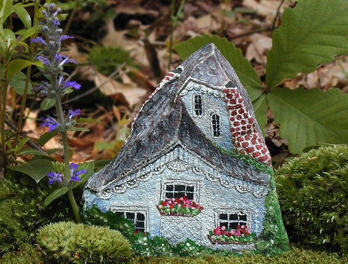 Rock painting, Great house