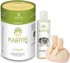 Best Ayurvedic oil for knee joint pain | ayurvedic medicine for knee pain http://www.kairtis.com/kairtis-oil-110-ml