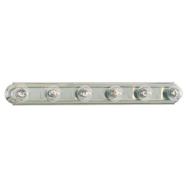 Sea Gull De-Lovely Bathroom Light Bar - 36W in. Brushed Nickel - 4702-962