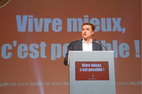 Benoît Lutgen: «La gauche et la droite sont éreintées par la cohabitation» | Elections 2014 - lesoir.be