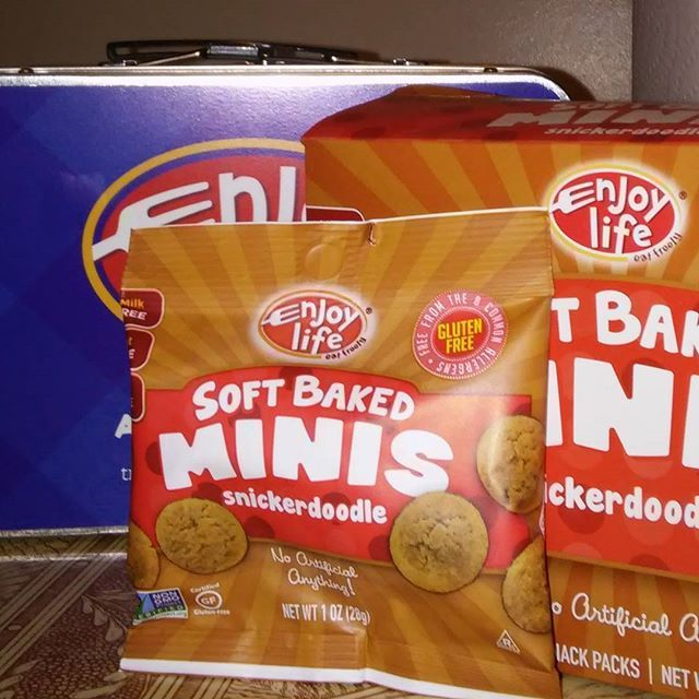 @enjoylifefoods minis are super handy for lunch! #top8free #allergyfriendly #snacks