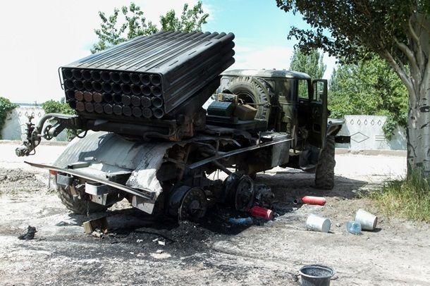BM 21 Grad, war in Ukraine