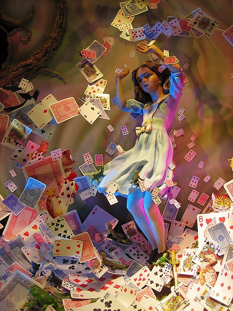 Nothing but a pack of cards by Simon Crubellier, via Flickr