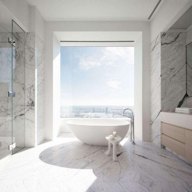 #NowPinning: 5 Beautiful Bathrooms From Around the World via @MyDomaineAU