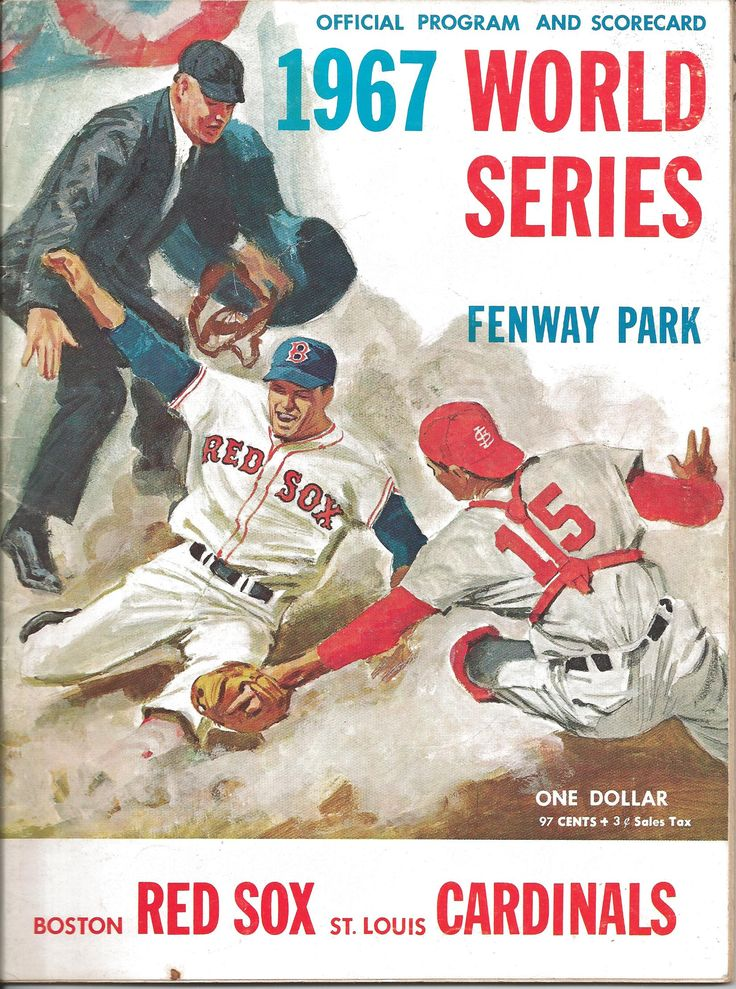 REMATCH!! lets do this!! Cardinals Red Sox 1967 World