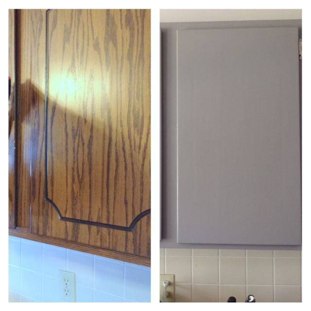 Cheap And Easy Kitchen Cabinet Makeover