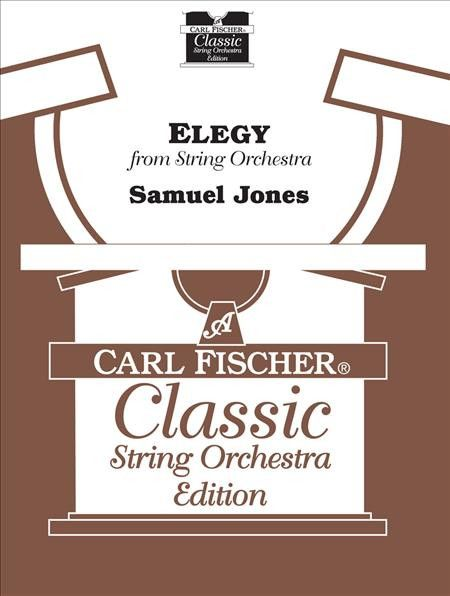 Elegy for String Orchestra (Score and Part(s))