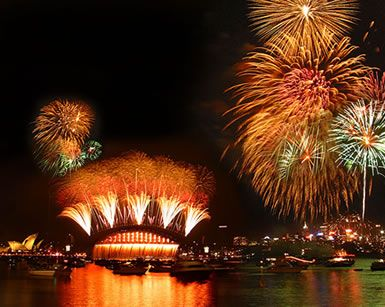 New Year's celebration in Sydney, brought to the world by Imagination