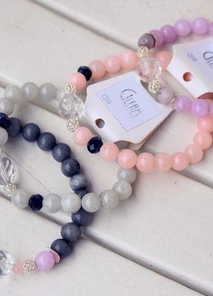 Kup mój przedmiot na #vintedpl http://www.vinted.pl/accessories/bizuteria/9893393-bransoletka-z-srebrnymi-przekladkami-i-krysztalem-svarowskiego