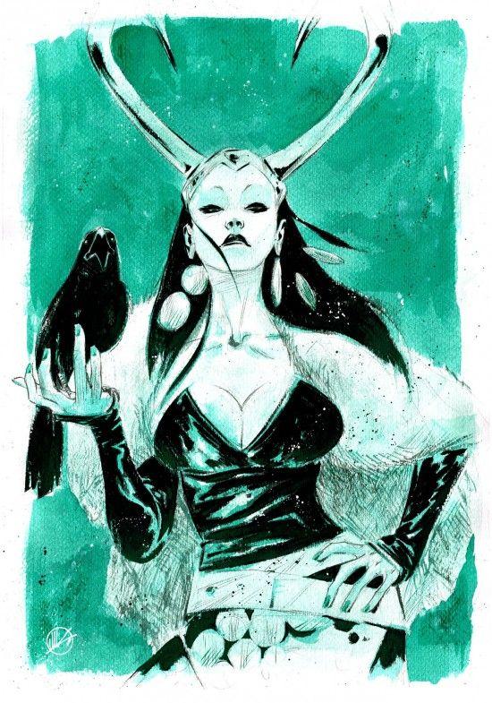 Lady Loki - Matteo Scalera