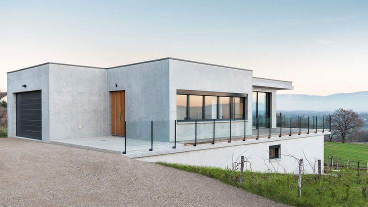 Современный дом во Франции от Zoomfactor Architects